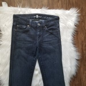 7 For All Mankind Jeans - 7 For All Mankind Flare Jeans Long Inseam 31